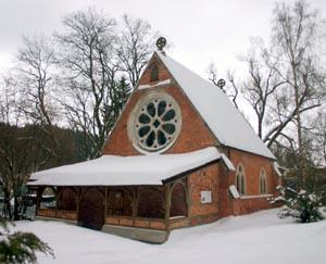 Former Anglican Church in Mariánské Lázne © Sybille Yates