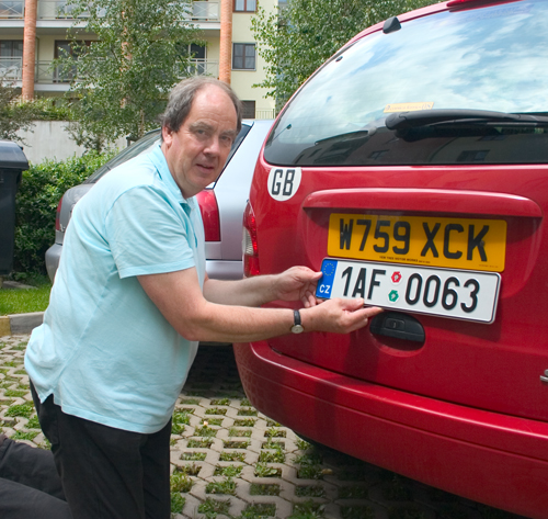 Number plate car check