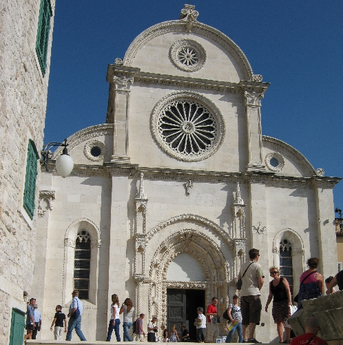 The west front of Šibenik Cathedral © Ricky Yates