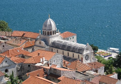 Šibenik Cathedral from the Citadel © Ricky Yates
