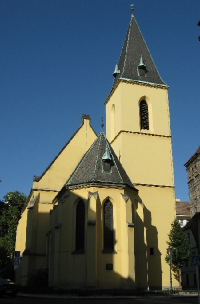 St. Clement's Anglican Episcopal Church, Prague © Ricky Yates