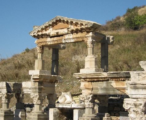 The Fountain of Trajan, Ephesus © Ricky Yates