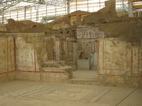 Internal view of terraced house, Ephesus © Ricky Yates