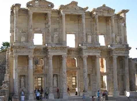 The Library, Ephesus © Ricky Yates