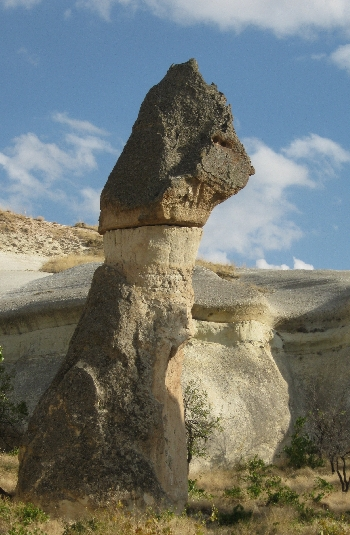 Fairy Chimney In Cappadocia © Ricky Yates