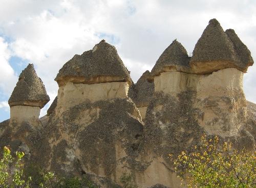 Fairy Chimneys in Cappadocia © Ricky Yates