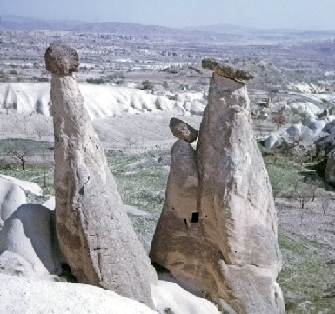 Fairy Chimneys in Cappadocia, April 1975 © Ricky Yates