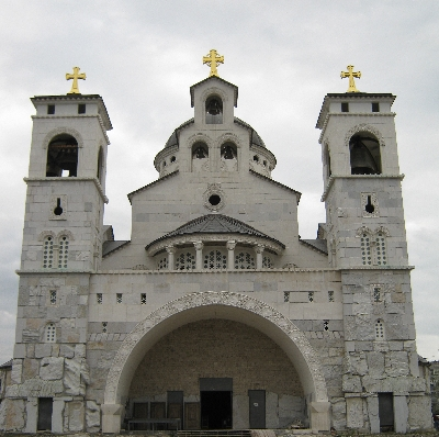 Orthodox Cathedral of the Resurrection of Christ, Podgorica © Ricky Yates