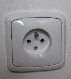 Prague plug sockets