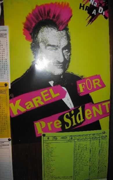 Punk Karel :-) © Ricky Yates