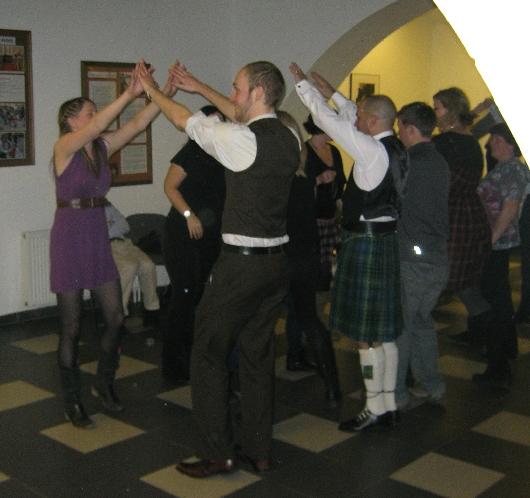 Ceilidh dancing © Ricky Yates