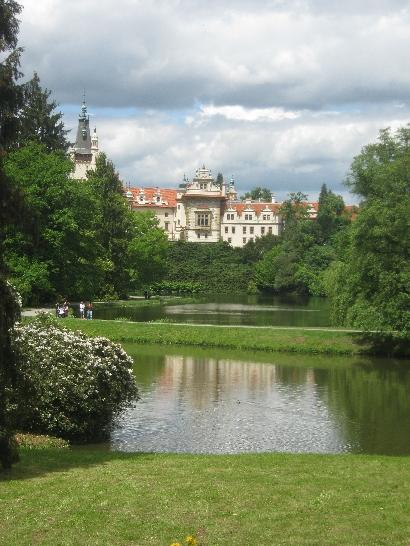 Pruhonice Zámek/Chateau and Park © Ricky Yates