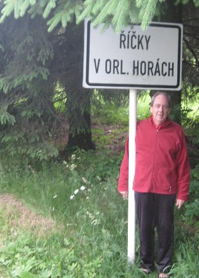 Ricky at Rícky v Orlických horách © Ricky Yates