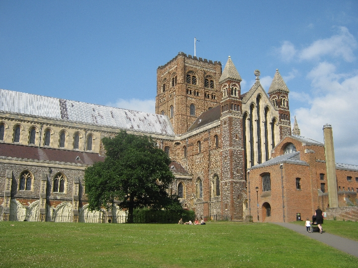 The Cathedral & Abbey Church of St. Alban © Ricky Yates