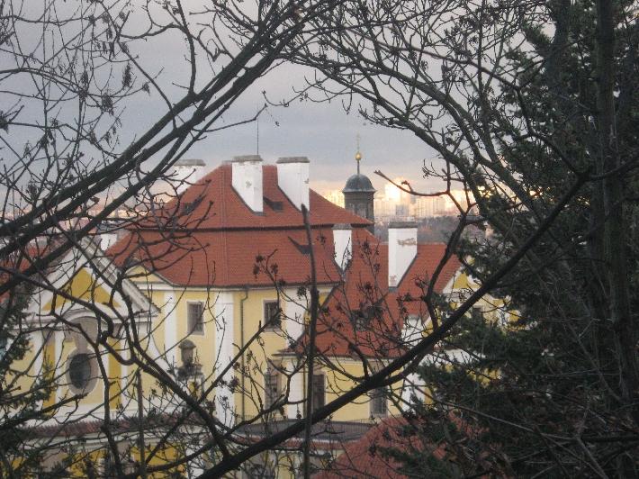Former monastery at Zbraslav  © Ricky Yates