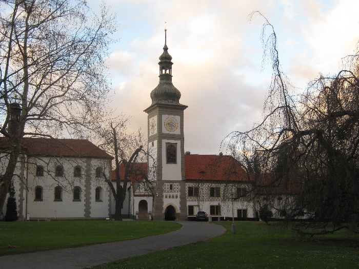 Former Monastery & Church of St. James, Zbraslav © Ricky Yates