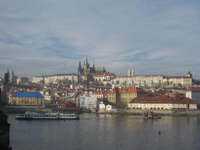 Prague Castle from Charles Bridge © Ricky Yates