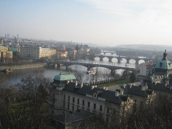 The Vltava River & Charles Bridge © Ricky Yates