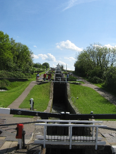 Foxton Locks © Ricky Yates