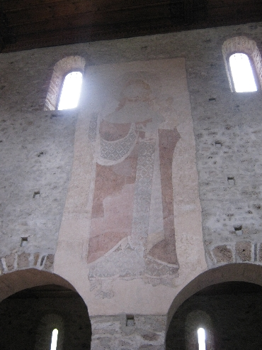Fresco in Amsoldingen Church © Ricky Yates
