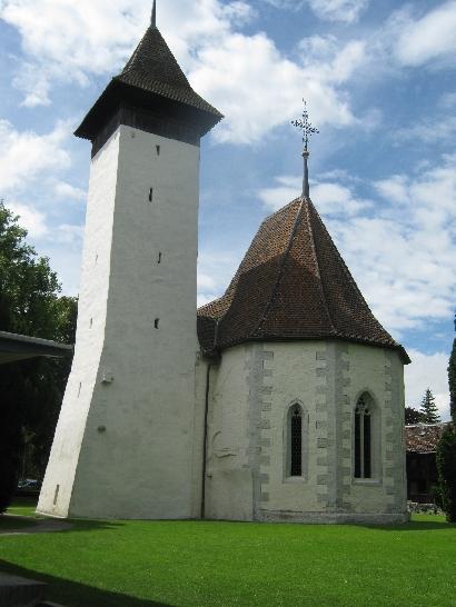 Kirche Scherzligen, Thun © Ricky Yates
