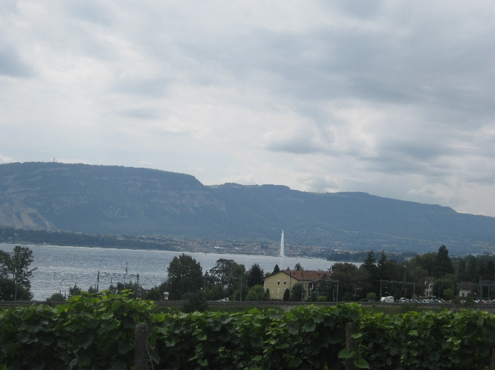Our first view of Geneva © Ricky Yates