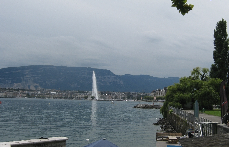 My parting view of Geneva © Ricky Yates
