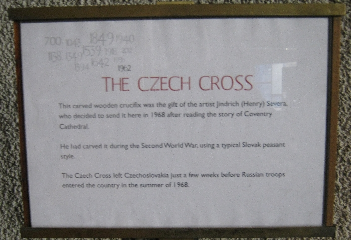 Explanation of the Czech Cross © Ricky Yates