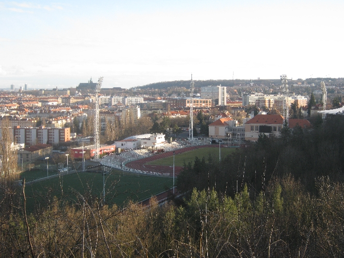 Stadion Juliska, the home of FK Dukla Praha © Ricky Yates
