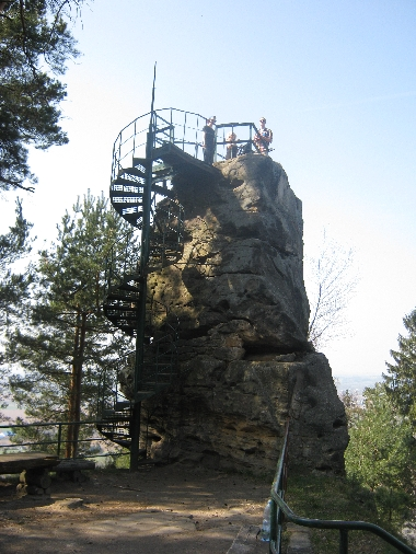 Hlavatice rock tower © Ricky Yates