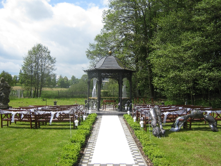 The setting for the Marriage Service © Ricky Yates