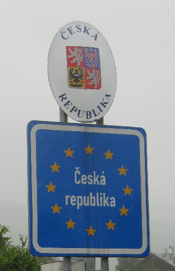 You are entering the Czech Republic © Ricky Yates
