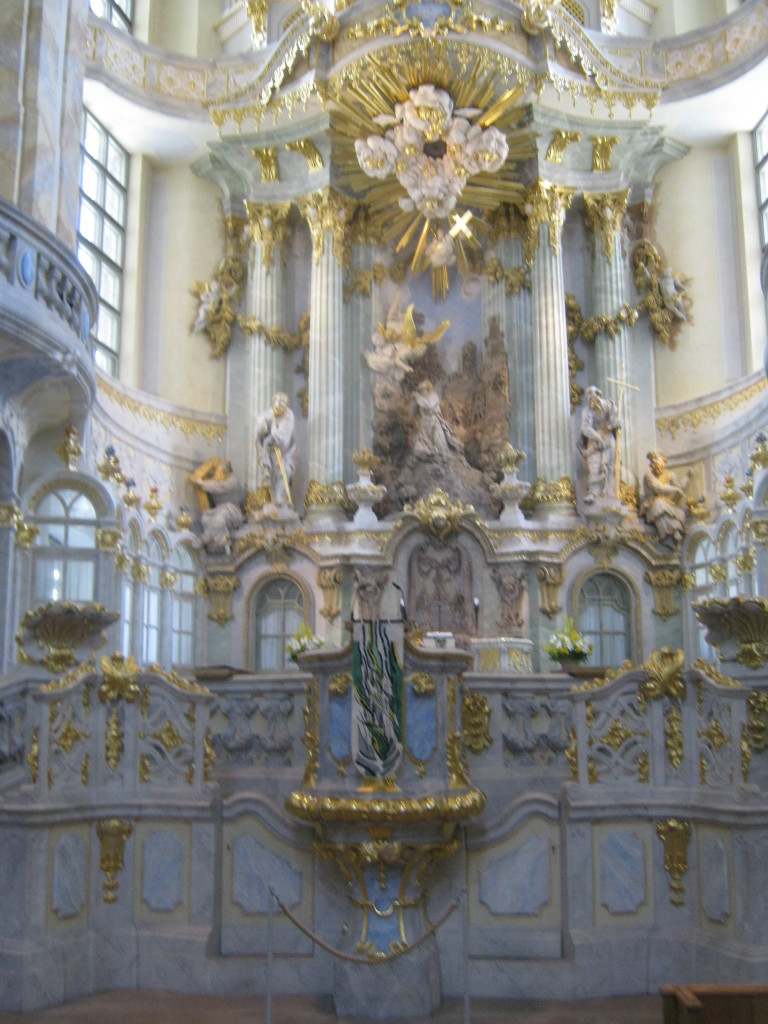 Interior of the Frauenkirche © Ricky Yates