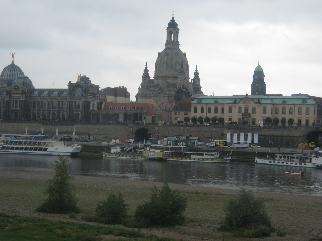 The Frauenkirche looking across the River Elbe © Ricky Yates