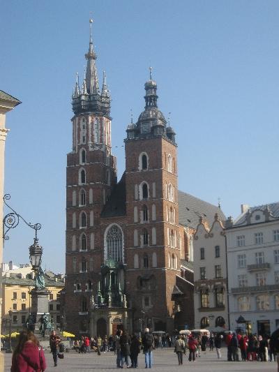 St Mary's Basilica, Kraków © Ricky Yates