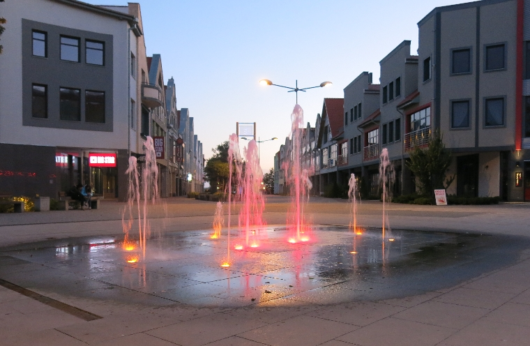 Fountains in Gizycko © Sybille Yates