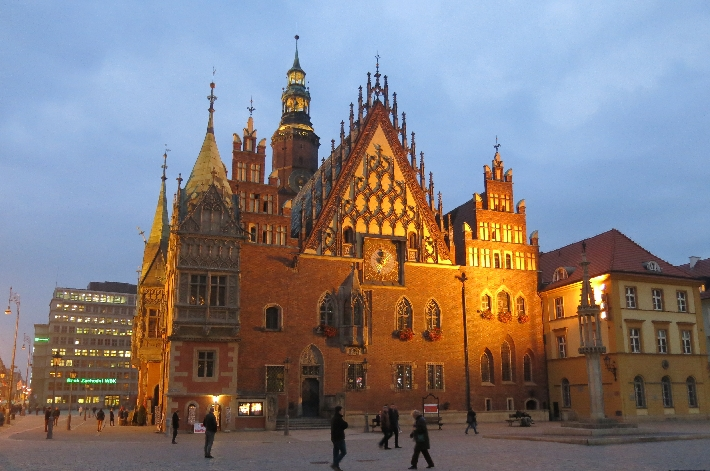 Wroclaw Town Hall © Sybille Yates