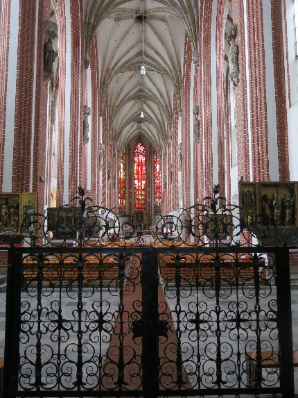 Interior of Wroclaw Cathedral © Sybille Yates