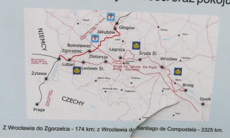 Routes to Santiago © Sybille Yates