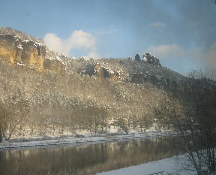 Sächsische Schweiz and the River Elbe © Ricky Yates