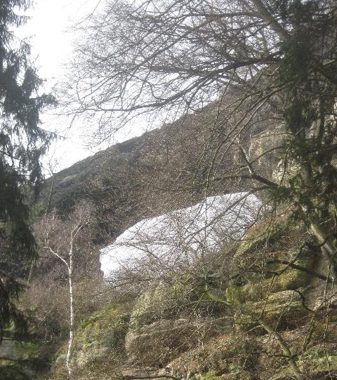 Rear view of Pravcická brána © Ricky Yates