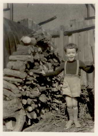 Yours Truly on 11th March 1956, aged 4
