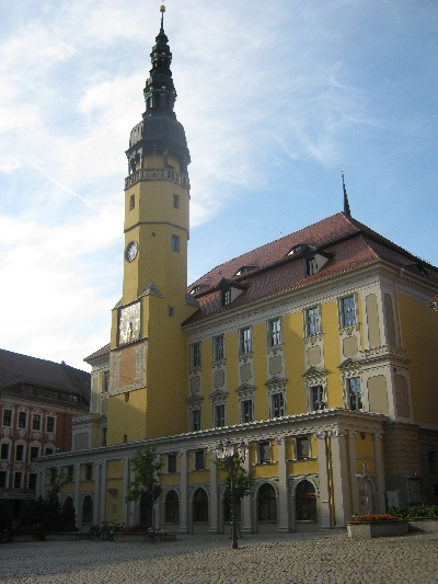 The Rathaus in Bautzen © Ricky Yates
