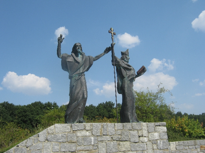 The Milleniumsdenkmal featuring St Cyril and St Methodius, Apostles to the Slavs © Ricky Yates