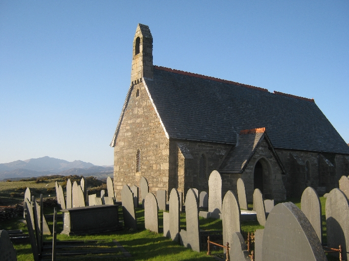 St Tecwyn's Church, Llandecwyn © Ricky Yates