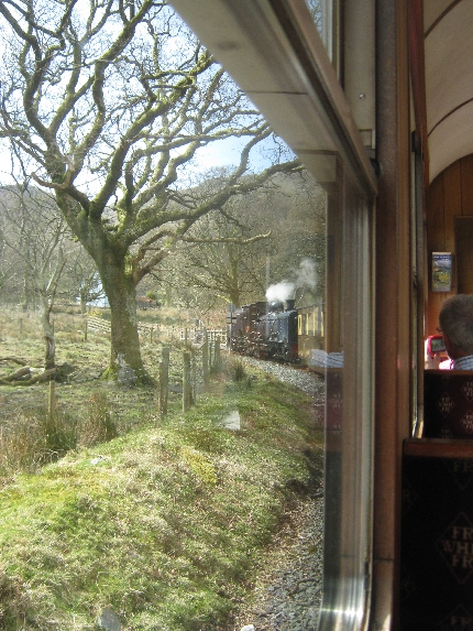 Heading north from Beddgelert © Ricky Yates