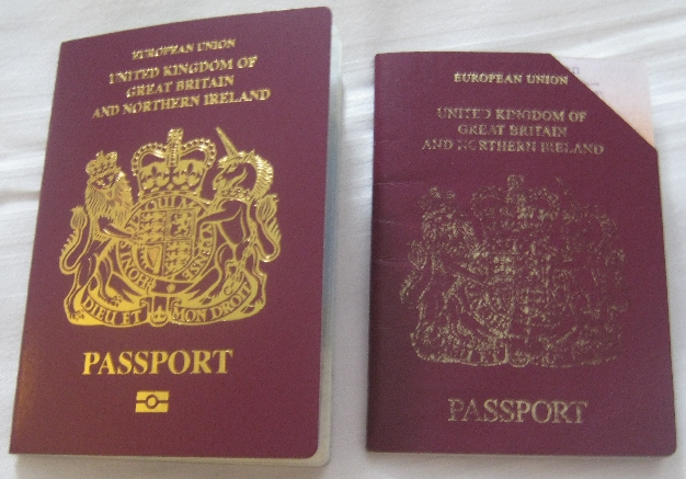 New and old passports © Ricky Yates