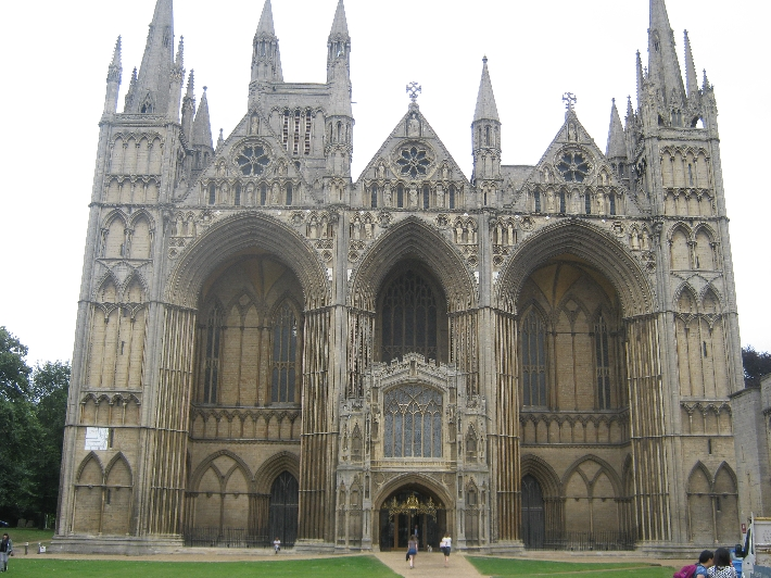 The west front of Peterborough Cathedral © Ricky Yates