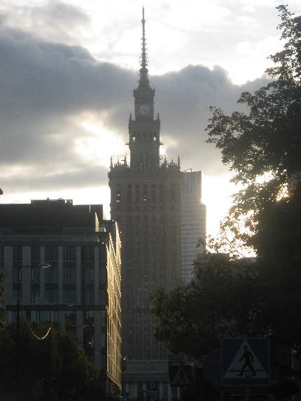 Palace of Culture and Science, Warsaw © Ricky Yates