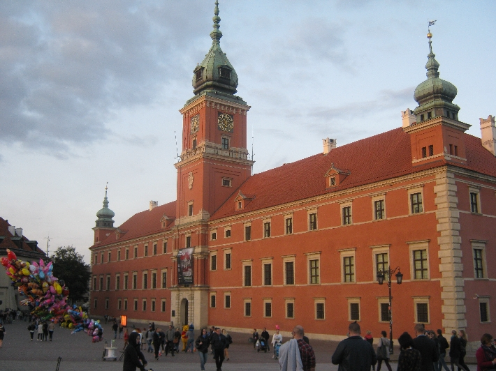 The Royal Palace, Warsaw © Ricky Yates